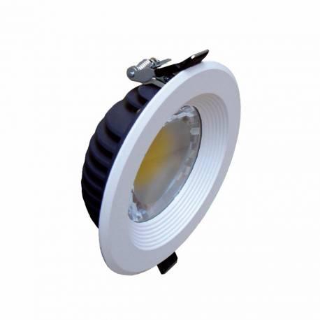 Downlight led Maslighting redondo blanco mate 8w 4500K 160° 680lm IP23