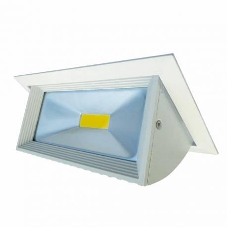 Downlight led Maslighting COB 30w rectangular basculante 2600 lm 160 grados