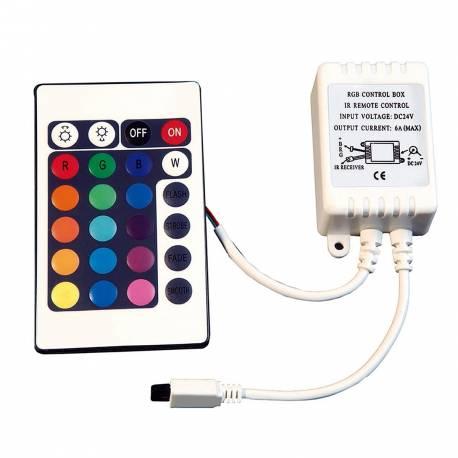 Controlador RGB Maslighting para tiras de led de 24v