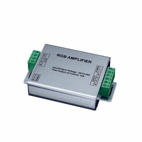 Amplificador de frecuencia RGB Maslighting para tiras de led de 24v