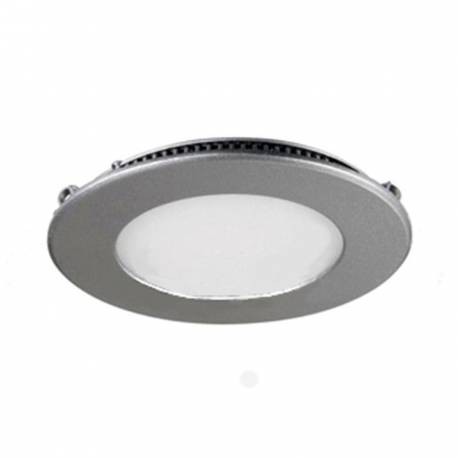Downlight led Maslighting redondo gris 8w 4200K 160° 490 lm