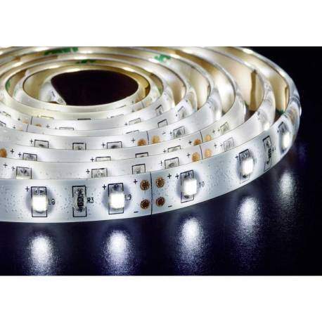 Tira led de 5m chip 3528 12v 60 led-m. IP65 Maslighting 183928