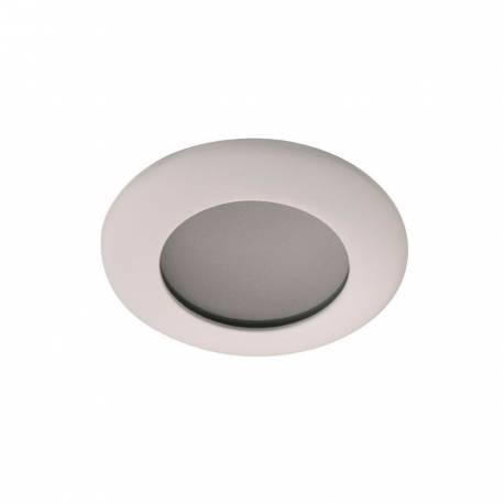 Foco redondo de fundición empotrable color blanco para GU5.3 Maslighting IP65