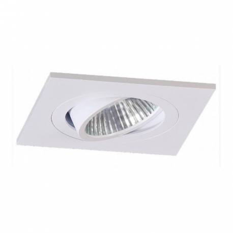 Foco de supeficie cuadrado basculante de aluminio Maslighting color blanco