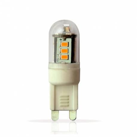 Lámpara led G9 3w 200 lm 360° Longitud 48 mm Diámetro 15 mm