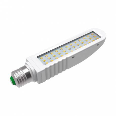 Lámpara de led lineal E27 12w 1200lm 4000K 120° 36 leds SMD.