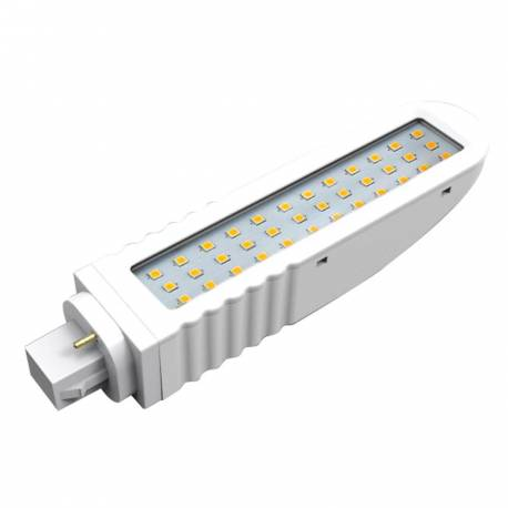 Lámpara de led lineal G24 12w 1200 lm 4000K 120° 36 leds SMD.