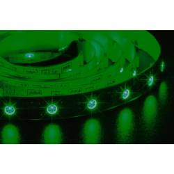 Tira de led 3528 rollo de 5m disponible en 3 colores 12v 60 led/m IP20 color verde