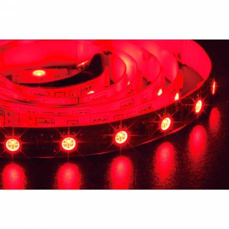 Tira de led 3528 rollo de 5m disponible en 3 colores 12v 60 led/m IP20 color rojo