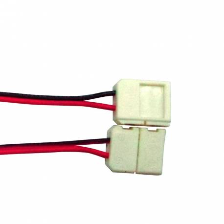 Conector intermedio con cable tiras de led IP65