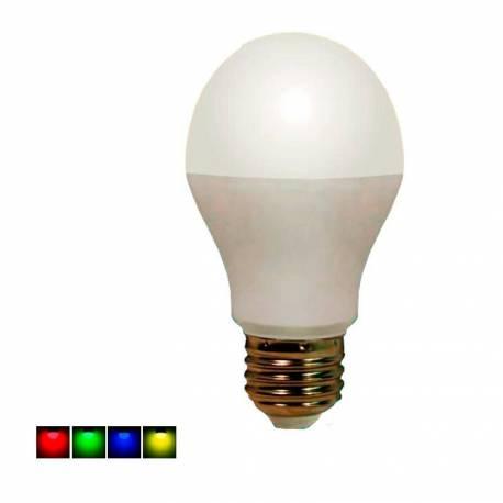 Bombilla Led RGB E27 6W 450 Lm 270° regulable