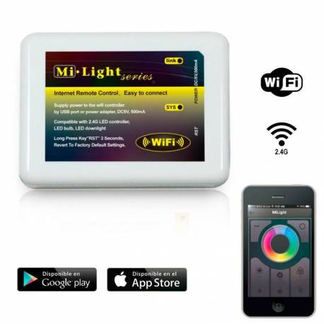 Convertidor Wifi para aplicaciones moviles Smart Light para smartphone/tablet