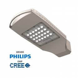 Luminaria Vial Led de alumino 60W 5700 Lm 4500K IP 65