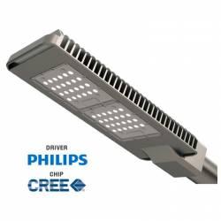 Luminaria Vial Led de alumino 80W 5700 Lm 7600K IP 65
