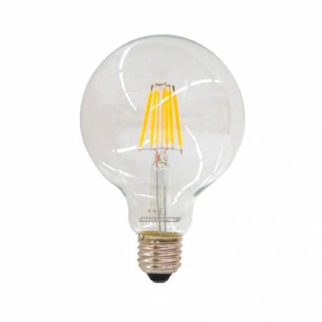 Lámpara Vintage Led E27 6W 650 Lm 3000K 360° evoca las antiguas lámparas con filamento