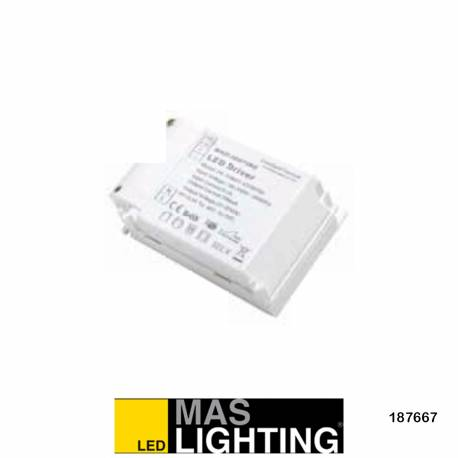 Driver Regulable 1-10 V para downlight para 186752