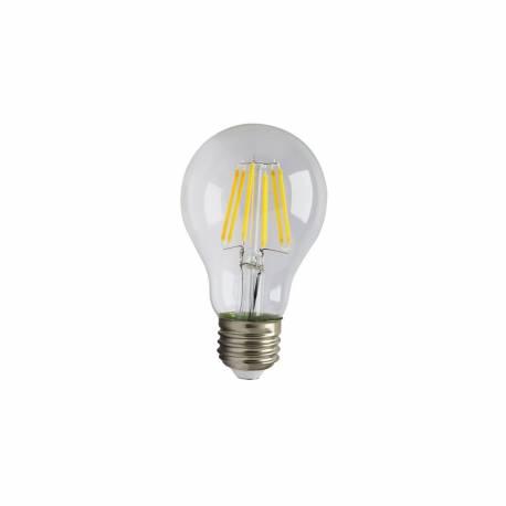Lámpara led Filamento Classic Transparente 8W 880 lumens